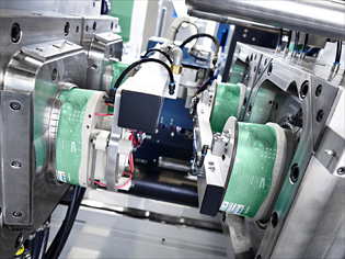 In-mould labelling (IML) with ALLROUNDERs